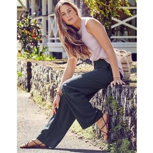 Athleta Chelsea Wide Leg Pants- navy